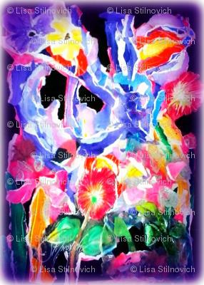 Iris Montage/Collage by L.Stilnovich