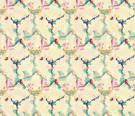 florentinehexlarge1 fabric by et_al on Spoonflower - custom fabric