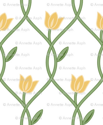 Flowerlines_yellow