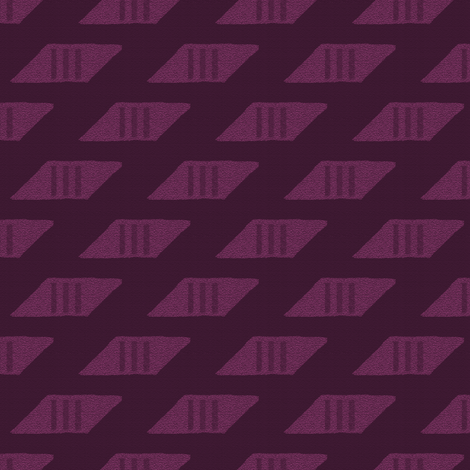 WOW Ascending Parallelograms 5 fabric by anniedeb on Spoonflower - custom fabric