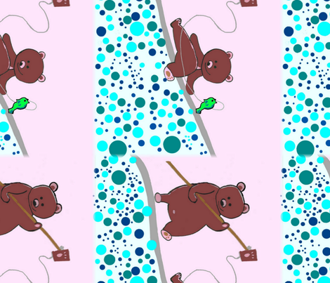Victor and dad fabric by l'atelier_de_dounia on Spoonflower - custom fabric