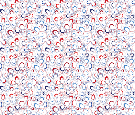 Dizzy Me Patriotic fabric by alchemiedesign on Spoonflower - custom fabric