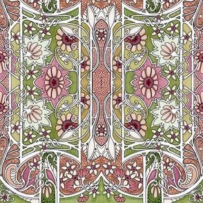 Do the Art Nouveau Twist