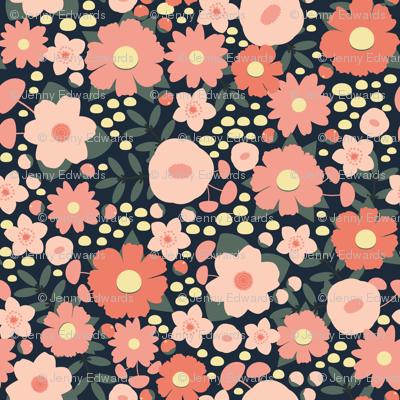 Romantic Blush Floral
