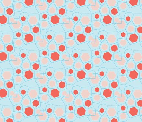 Hexisketch Retro fabric by designsidestudio on Spoonflower - custom fabric