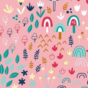 Wild Flowers Pink
