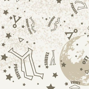 Cosmic Star Gate (Ivory colorway)
