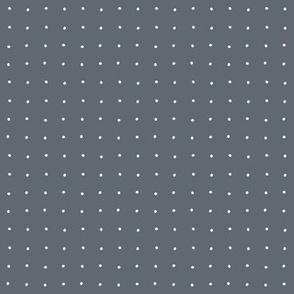 petite dot lead white