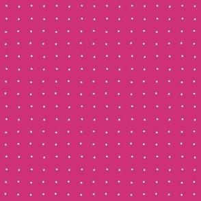 petite dot pink white