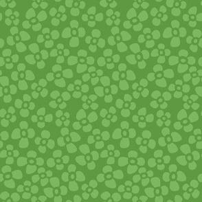 petite flowers green