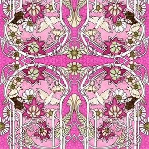 Nouveau Oiseau (pink)