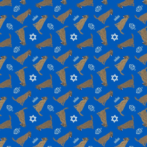 Tiny Dutch Shepherds - Hanukkah