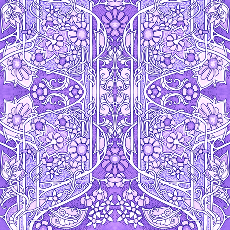 Hold Their Breath Until They Turn Purple fabric by edsel2084 on Spoonflower - custom fabric