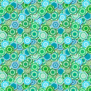 Hexagon Gems