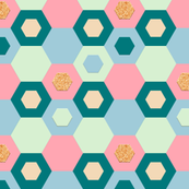 Cork Hexagons (Tiles)