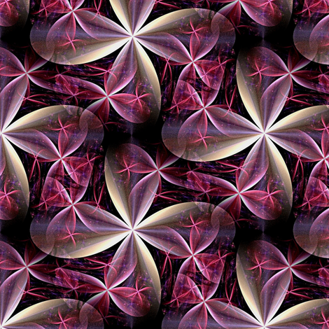 kaleidoscope fabric by stofftoy on Spoonflower - custom fabric