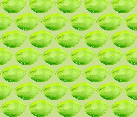 Limegreen  Love fabric by susiscauldron on Spoonflower - custom fabric