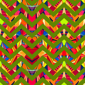 Grasshopper Chevron Color Pop