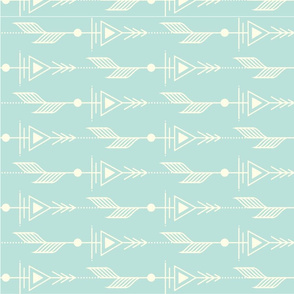 Mod Arrows Cool Aqua
