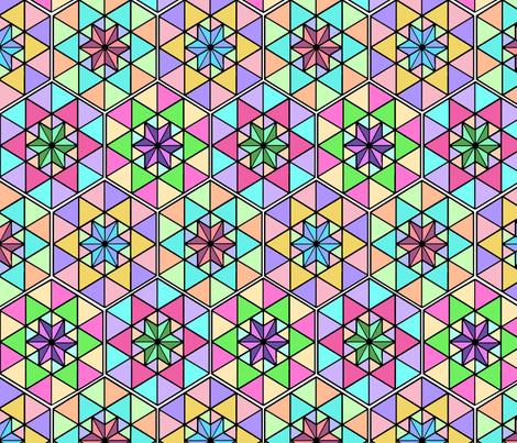Japanese 420 Symbol fabric by camomoto on Spoonflower - custom fabric