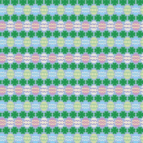 Easter Eggs & Four-Leaf Clovers