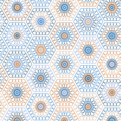 hexagons-light