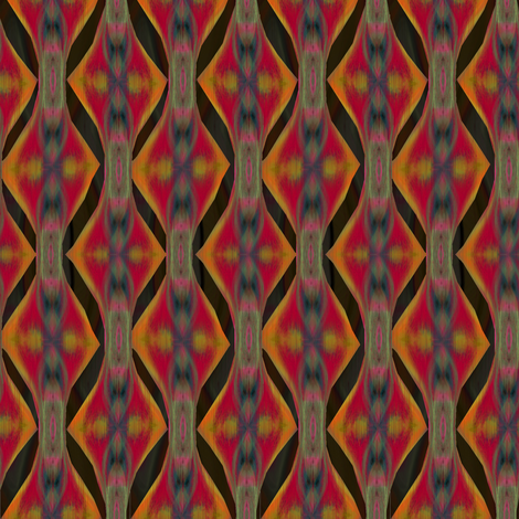 Pendo (Black) fabric by david_kent_collections on Spoonflower - custom fabric