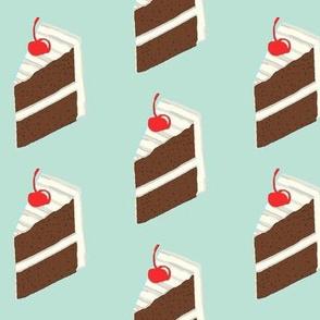 I want Cake-Chocolate-retro