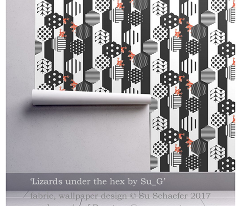 Lizards under the hex by Su_G