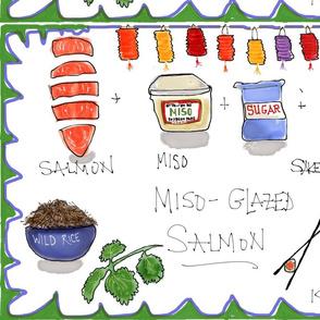 Miso Glazed Salmon!