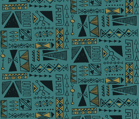 Ardoukoba fabric by theaov on Spoonflower - custom fabric