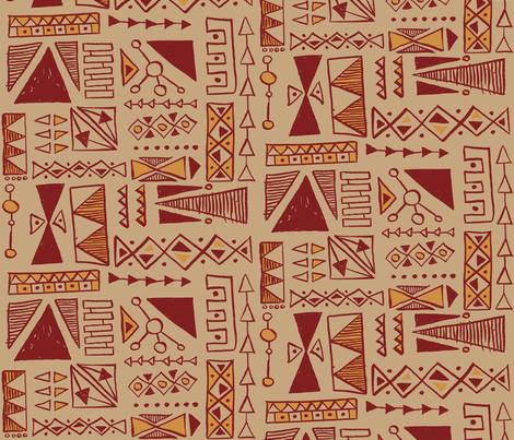 Boina fabric by theaov on Spoonflower - custom fabric