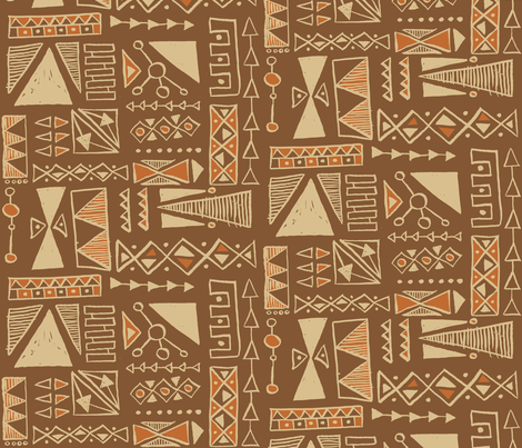 Kavachi fabric by theaov on Spoonflower - custom fabric