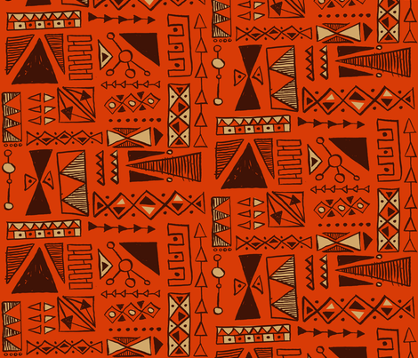 Tiho fabric by theaov on Spoonflower - custom fabric