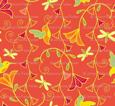 Hummingbird_Bells_aBuzz_Tangerine