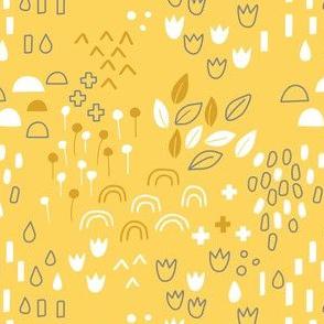 Scandi Garden Yellow