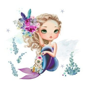 "7"" Mix & Match / Lilac Mermaid"