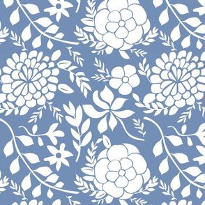 Paper cut flora