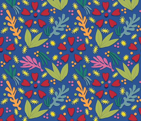 Tribute to Matisse + fabric by gargoylesentry on Spoonflower - custom fabric