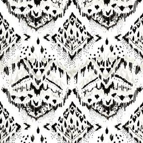 Boho / Global / Ikat / Modern / Black & White