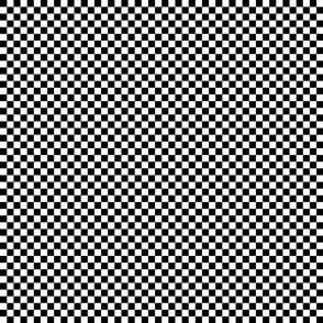 Black & White Tangrams Check