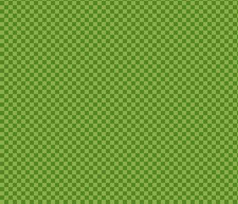 Spring Green Tonal Tangrams Check fabric by stitchyrichie on Spoonflower - custom fabric