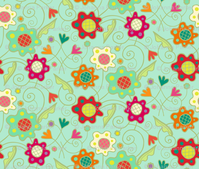 Flower_Patch_Light_Aqua