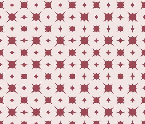 splash~mulberry on sunbleached pink fabric by ali*b on Spoonflower - custom fabric