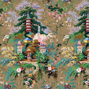 Chinoiserie Palace ~ Faded Glory