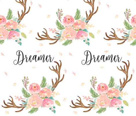 "10.5"" Dreamer Pastels / MIX & MATCH fabric by shopcabin on Spoonflower - custom fabric"