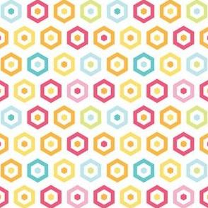 Hexagons in hexagons