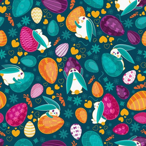 Busy easter bunnies 1