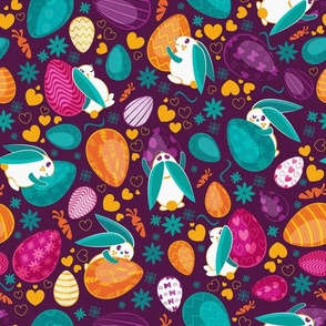 Busy easter bunnies 2