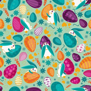 Busy easter bunnies 3